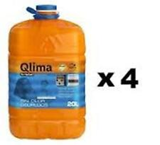 x 4 QLIMA KRISTAL Combustibile liquido universale per quals. stufa 20lt inodore