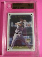 2007 UD Masterpieces Andrew Miller  #74 Rookie RC, BGS 9.5 GEM MINT Cardinals