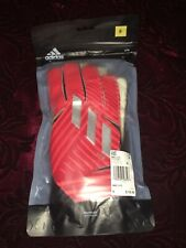 DY2589 Adidas Nemeziz Lite Goalkeeper Gloves Red Soccer Football SoftGrip Size 8