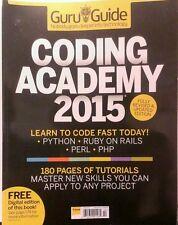 Guru Guide UK Coding Academy 2015 Tutorials Master Skills FREE PRIORITY SHIPPING