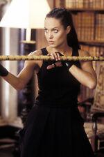 Angelina Jolie 11x17 Mini Poster Tomb Raider In Black Skirt