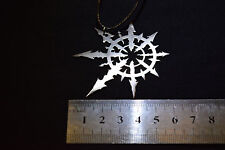 Chaos Star Warhammer 40000 pendant necklace stainless steel Keychain 40k
