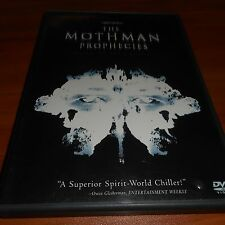 The Mothman Prophecies (DVD, 2002) Richard Gere, Laura Linney Used Moth Man
