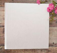 Extra Large Photo Album. DIY Photo Album. Plain, Blank Ivory Photograph Album.
