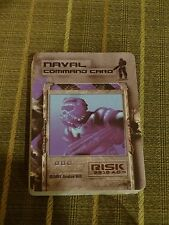 2001 Risk 2210 AD Navel Command Cards Game Piece Replacement