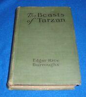 The Beasts of Tarzan By Edgar Rice Burroughs 1916 HC / A.C. McClurg & Co.