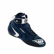 Neu OMP Fahrerschuh FIRST MY20 Marineblau (Homologation FIA) (42)