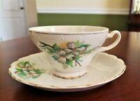 Tea Cup and Saucer set  Bone China Japan