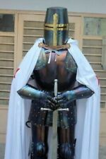 Steel Medieval Combat Wearable Knight Crusader Armor Suit Full Body Armour War