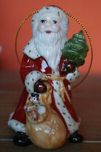 Villeroy & Boch Nostalgic Ornaments Anhänger Nikolaus OVP / Weihnachten / Advent