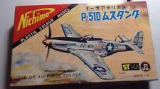 Nichimo 1/75  P-51D Mustang vintage model kit