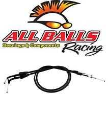 Yamaha YZ250F 2007 to 2013 Throttle Cables (Pair) By AllBalls Racing