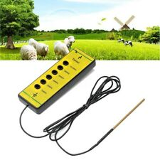 Electric Farm Fence Voltage Tester Fencing Wire Meadow Pasture Measure Detector