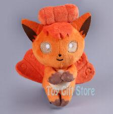 Vulpix 12CM Poke Keychain Plush Stuffed Doll Toy #Do
