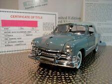 Danbury Mint 1951 Ford Victoria.1:24.Rare Le Coupe.Nos.Docs.Undisplaye d