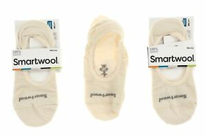 Smartwool 250572 Womens Hide And Seek No Show Socks Set Of 3 Natural Size Large