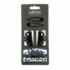 LaModa Hair Clamps and Sleepies Set. 2 Small Hair Clamps. 1 Large Flower-Style