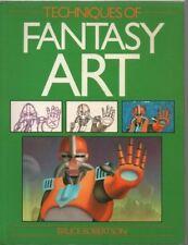 Illust Techniques Fantasy Art-Bruce Robertson