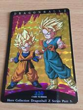 Carte Dragon Ball Z DBZ Hero Collection Part 3 #320 Prisme 1995 MADE IN JAPAN