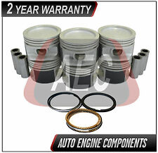Piston & Ring Set Fits Chevrolet Buick Malibu Century 3.1 L Duratec - SIZE 030