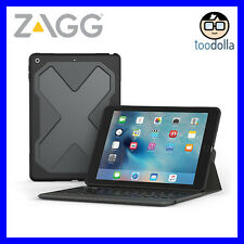 ZAGG Rugged Messenger Keyboard Case, with detachable case for iPad 9.7 (5th/6th)