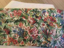 NEW P. Kaufmann Chintz Drapery Fabric in Floral Print w/ Scotchguard - 6 Yds