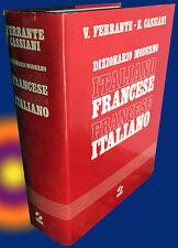 Dizionario moderno italiano-francese e francese-italiano