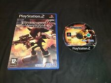 SHADOW THE HEDGEHOG Sony Playstation 2 Game PS2