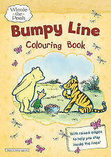Winnie-the-Pooh Bumpy Line Colouring Book, VARIOUS, New Book
