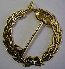 Grand Trustee Jewel Pendant Masonic Lodge Officer Chain Collar Freemason Regalia