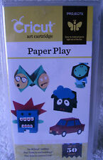 "Provo Craft Cricut Cartridge ~ ""Paper Play"" ~ #2001413 ~ **NEW**"