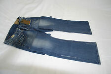 NEW LEE COOPER BLUE BRUSHUSED Ladies  Rise REILLY  Straight leg Jeans W.25 L.32