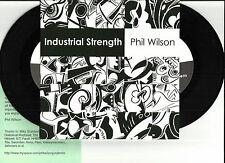 PHIL WILSON Industrial Strength 7 INCH VINYL Kraftwerk Throbbing Gristle faust