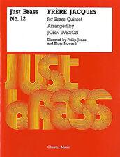 Frere Jacques For Brass Quintet Just Brass No.12 Quintet Trumpet Horn Music Book