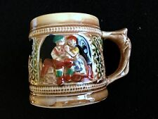 Japanese Tea Set German Beer Stein Lusterware Sanyo Made in Japan 5 Cup Saucer