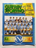 GUERIN SPORTIVO 44-1986 +FILM MARADONA NAPOLI ANTOGNONI BECKER DIRCEU AVELLINO