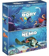 Finding Dory + Finding Nemo Double Pack [2 Movie Collection Box Set] [Blu-ray]