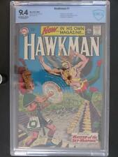 Hawkman #1 -NEAR MINT- CBCS 9.4 NM -DC 1964- 1st App of Hawkman in own title!!!