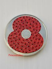 2018*UNC*BAILIWICK OF JERSEY POPPY~LEST WE FORGET £5 FIVE POUND COIN