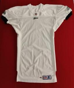 "Philadelphia Eagles 1998 Starter Blank Pro-Cut Game Issue Road Jersey Size 48+6"""