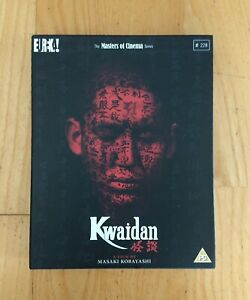Kwaidan - Eureka Masters Of Cinema MoC Limited Edition OOP Blu-Ray - like NEW