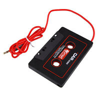 CD Car Cassette Tape Adapter Converter MP3 CD Player Ipod Iphone 3.5mm Connector