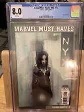 Marvel Must Haves NYX #1-3 CGC 8.0 look! Wolverine's Daughter!