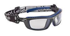 BOLLE Baxter occhiali di sicurezza Google PLATINUM Antinebbia Anti Scratch CLEAR LENS
