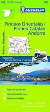 Mapa zoom pirineos orientales/pirineo catalan, andorra 2017