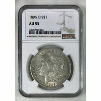 1896 O Morgan Dollar NGC AU53 *Rev Tye's* #8033119