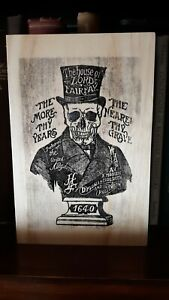 Rustic Pine Sign Lord Fairfax