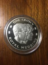 1986 ROYAL WEDDING SILVER COIN PROOF-RARE. 5000 EX