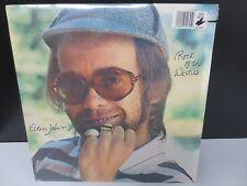"ELTON JOHN ROCK OF THE WESTIES 12"" SEALED LP RECORD"