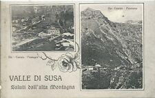 Val Susa - Torino - Bar Cenisio - Vedutine Moncenisio - Cartolina Viaggiata 1930